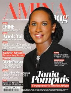 Couverture numéro 581 Amina magazine octobre 2018
